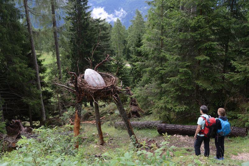 Latemar: le montagne dei draghi nella Val di Fiemme