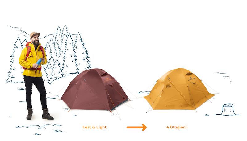 scegliere la tenda da campeggio