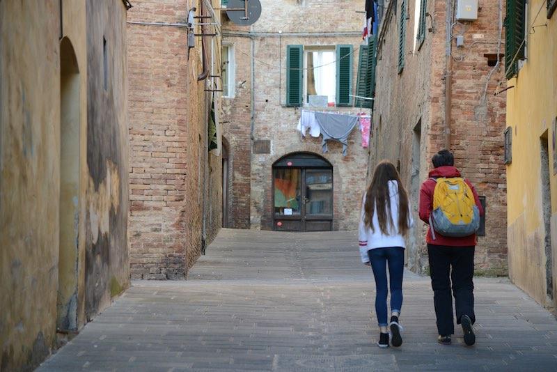 Siena with kids