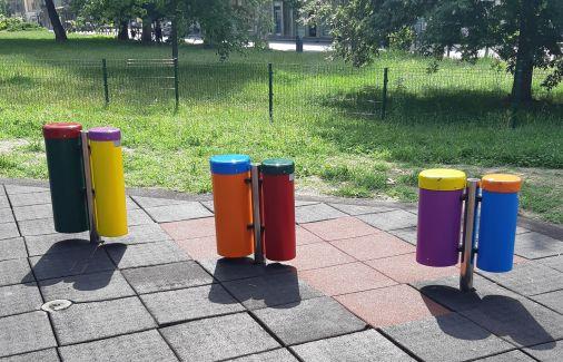strumenti musicali parco gioco