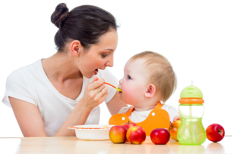 Clean baby food