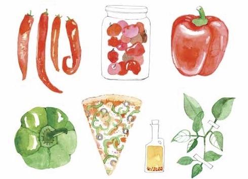 La cucina nei libri: ricette e disegni per bambini golosi
