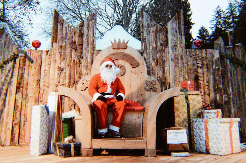 trono Babbo Natale