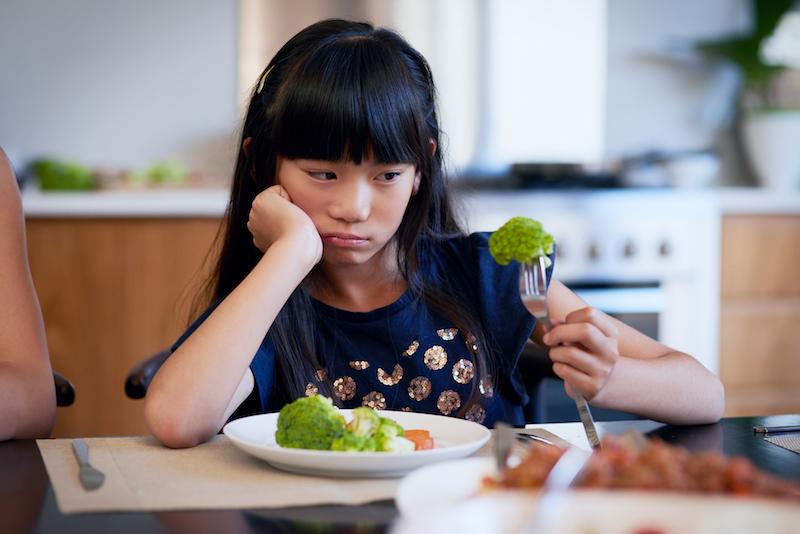 ARFID: il disturbo dei bambini selettivi