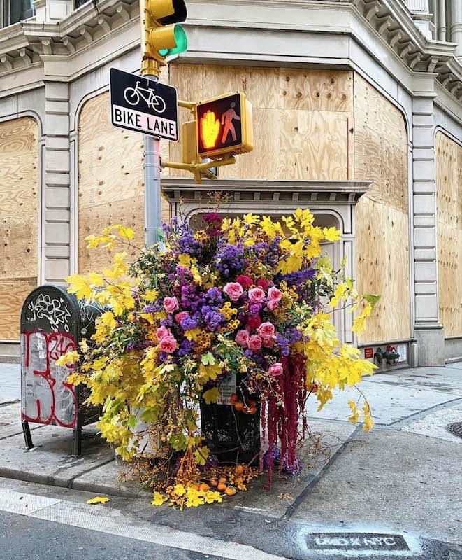 sculture di fiori