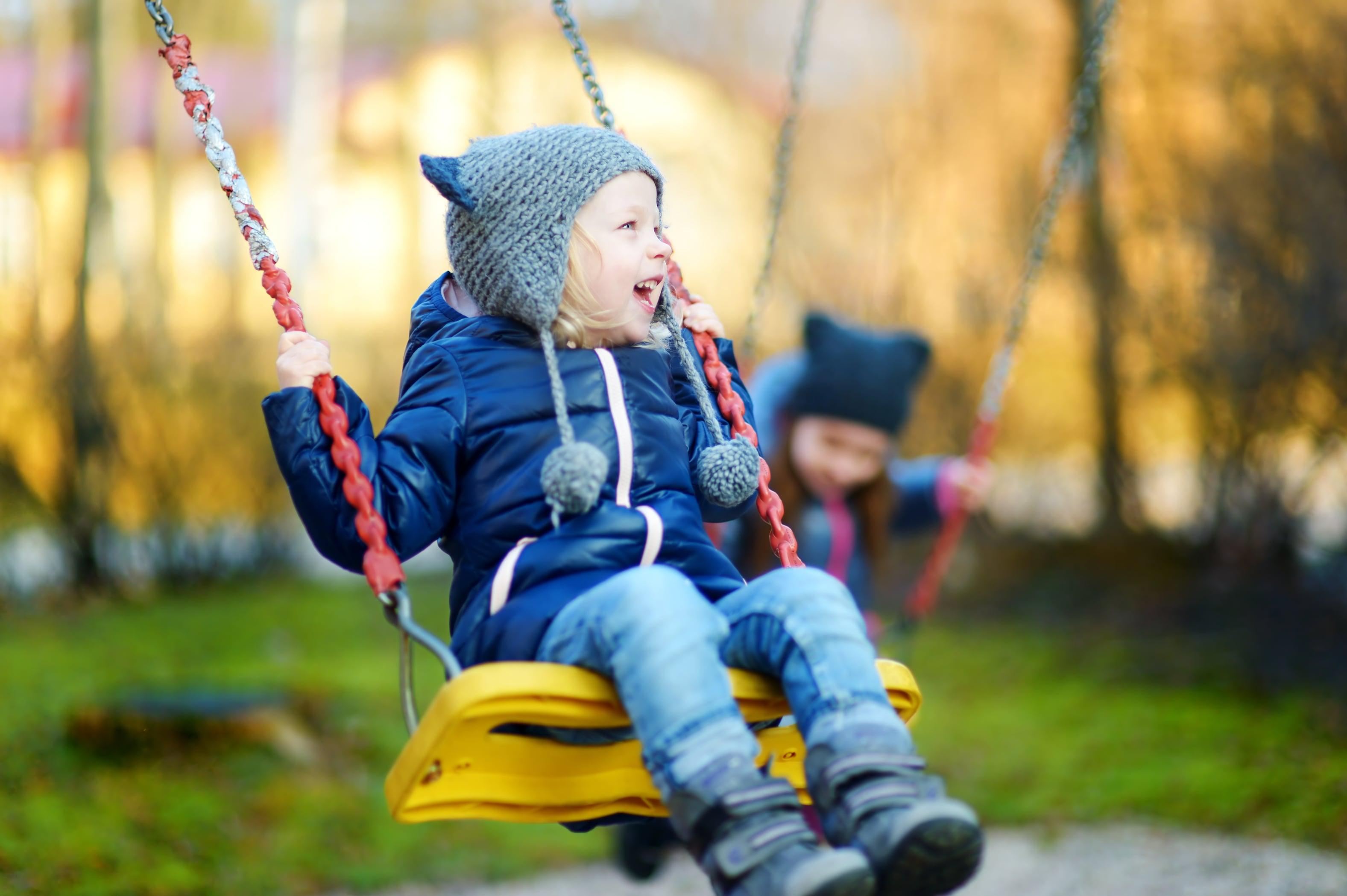 Protetto: Giocare all'aria aperta fa bene, in tutte le stagioni