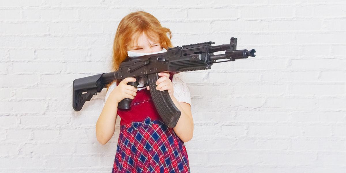 pistole nerf