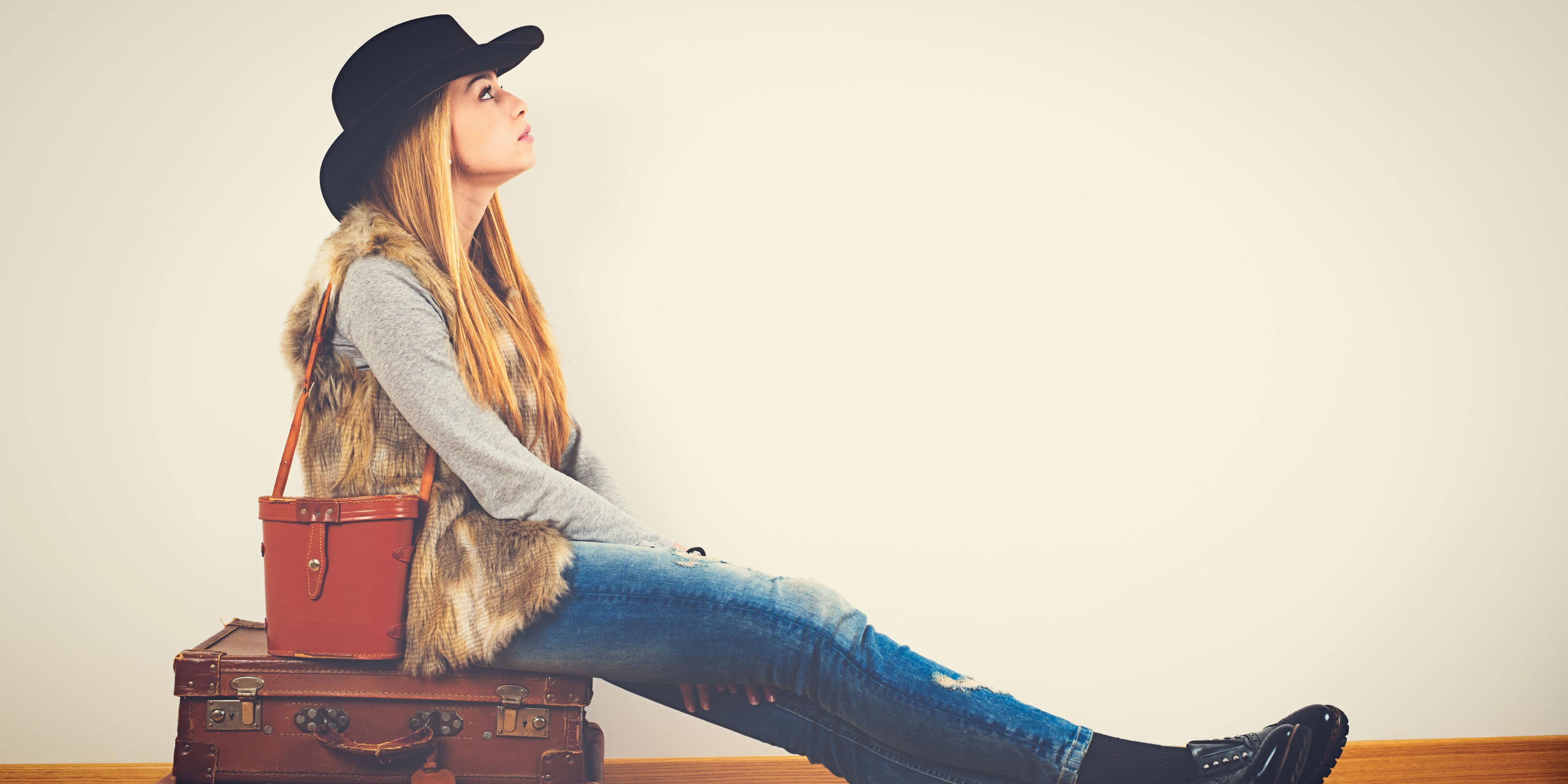 Caterina e quattro modi di viaggiare, quando non si può