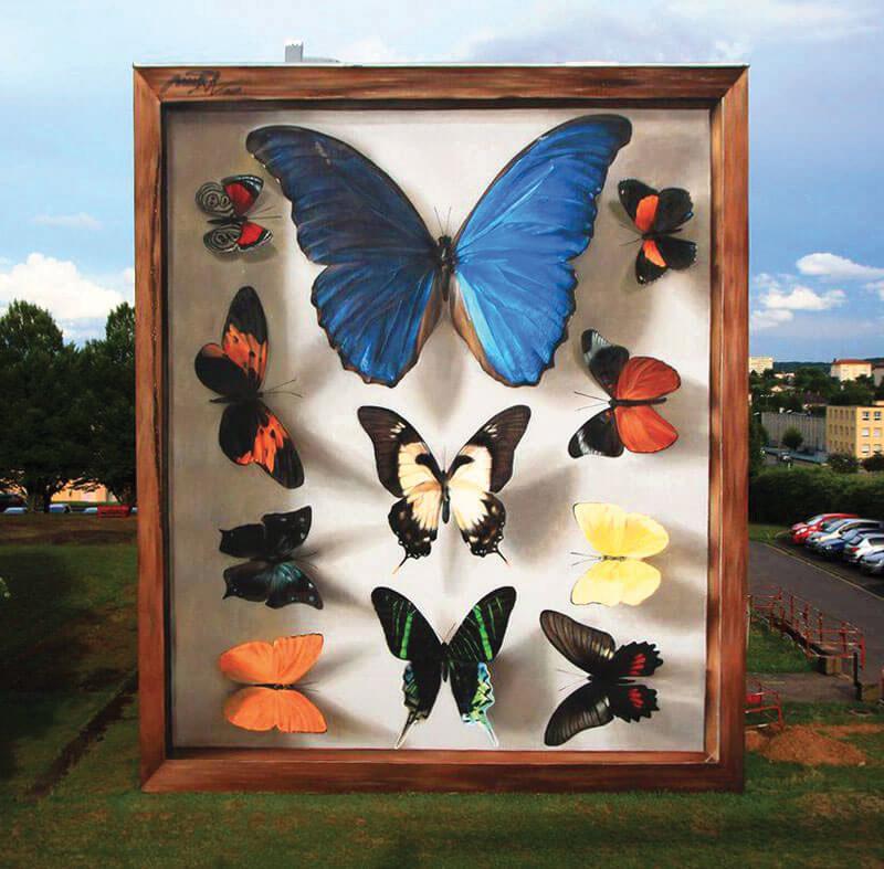 farfalle murales