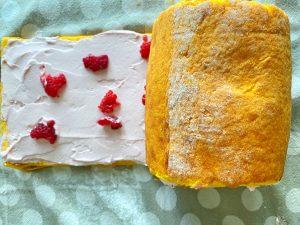 torta lamponi