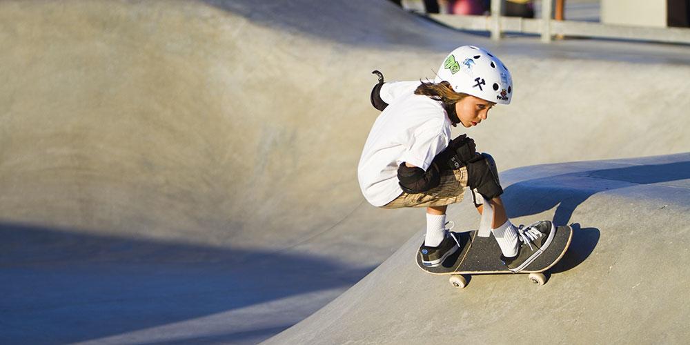 Le 10 regole dello skatepark