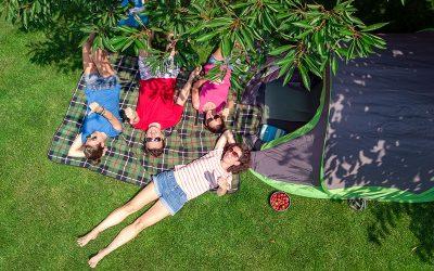 L'estate in campeggio