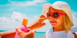 protezione solare bambini
